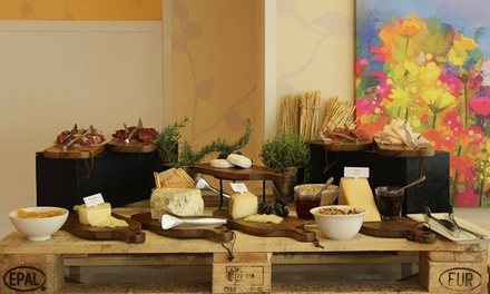 Breakfast, Lunch or Themed Night Buffet for Up to Four at The Garden Restaurant at 5* Crowne Plaza