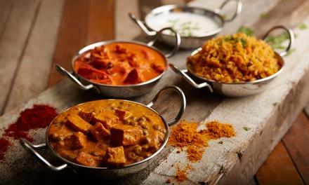 Menu indiano da 3 portate, antipasto, dolce e calice di vino al Namastè Ristorante Indiano (sconto fino a 57%)