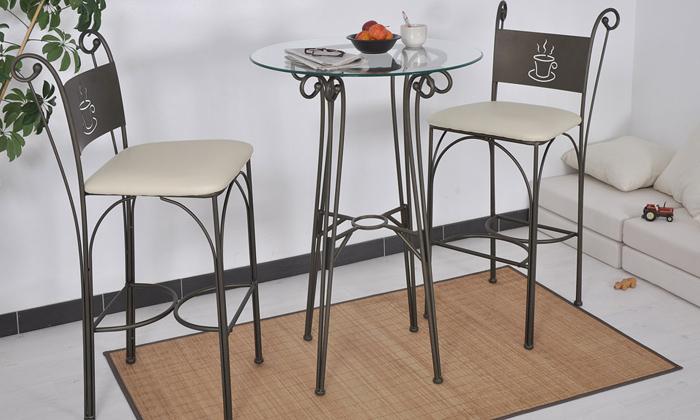 ensemble tables et chaises de cafe au choix des 159 90 livraison offerte