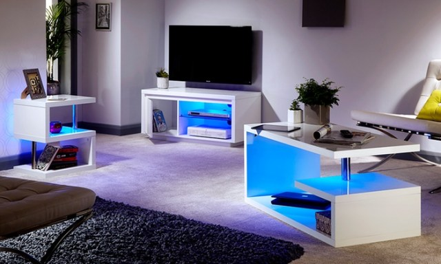 High-Gloss Living Room Furniture   Groupon