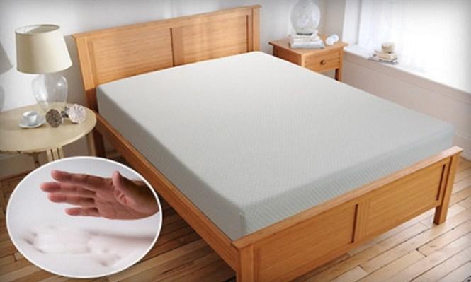 Comfort Zone 10 Inch Memory Foam Mattress Up To 63 Off