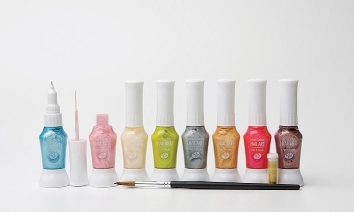 Rio Nail Art Design Kit Groupon Goods
