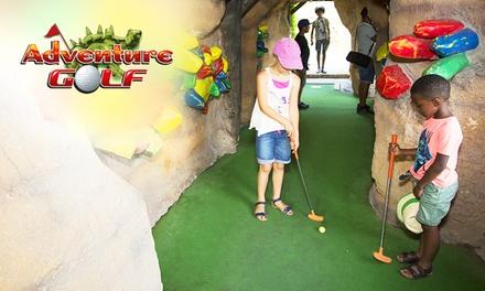 1 entrée enfant ou adulte du 12 juin au 1er septembre 2021 à lAdventure Golf