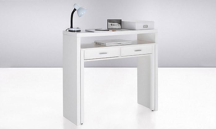 Bureau Console Retractable