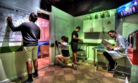 Choice of Escape Room Game for Up to Eight at Escapology Escape Rooms Sharjah (Up to 36% Off)