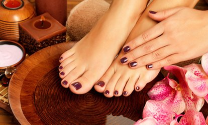Image Placeholder For Basic Or Gel Manicure And Pedicure By Scarlett Moore At Lirica Salon