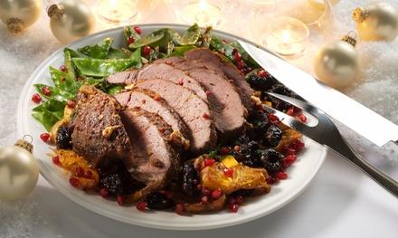 Menu di carne con calice di vino per 2 o 4 persone al White Restaurant (sconto fino a 67%)