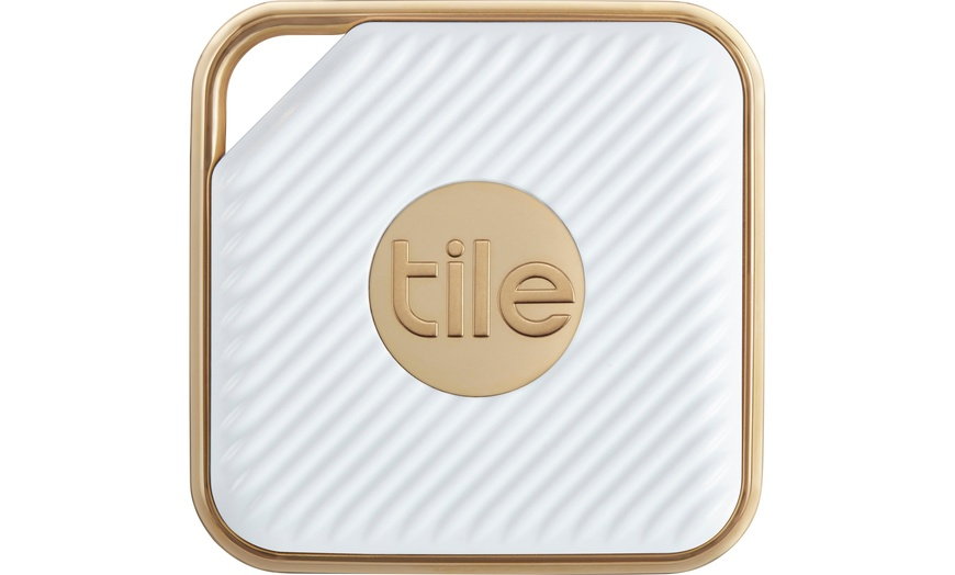 tile mate rt 11001 eu pro style bluetooth tracker white gold 1 pack