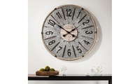 Rustic Farmhouse Wall ArtDecorative 6pc Numbered Hook SetRayonier Decorative Oversized Wall ClockBrevan Oversized Decorative Windmill Wall ClockKey Decorative Wall Panel 2pc SetRustic Farmhouse Wall Art Raw wood and wrought iron      Dimensions: 8.25 inches (H) x 4.5 inches (W) x 2.5 inches (L)      Weight: 2.0 pounds  Rustic Farmhouse Wall Art Aged galvanized aluminum w/ rope      Dimensions: 36.0 inches (H) x 36.0 inches (W) x 1.5 inches (L)      Weight: 7.0 pounds  Rustic Farmhouse Wall Art  Aged galvanized aluminum w/ natural wood      Dimensions: 28.5 inches (H) x 28.5 inches (W) x 3.0 inches (L)      Weight: 5.0 pounds  Rustic Farmhouse Wall Art Heavily distressed blue and off-white      Dimensions: 31.25 inches (H) x 12.5 inches (W) x 1.25 inches (L)      Weight: 10.0 pounds        Made in China For post-purchase inquiries, please contact customer support.Sold by Groupon Goods. View the FAQ to learn more.