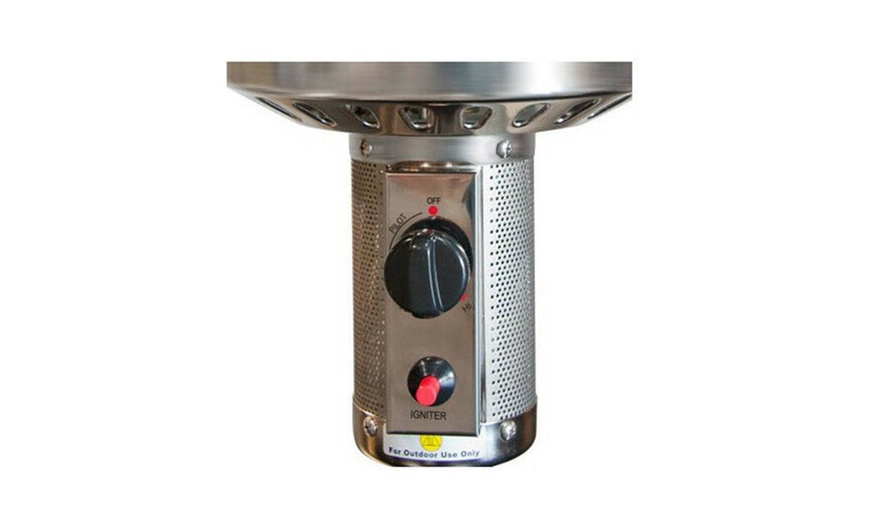 burner top head part w mesh screen patio heater propane complete replacement