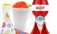 Courant Blizzy Snow Cone MakerCourant Blizzy Snow Cone MakerMakes a snow cone in secondsFor Parties  Warm Weather FunCounter Top ModelStainless Steel Shaving BladesLarge Push ButtonWorks with Standard-sized Ice CubesRemovable Cone HolderBonus includes 20 6oz. paper cones and strawsCourant Blizzy Snow Cone Maker Red .6 oz csm-2081      Kitchen Appliance Materials: plastic      Condition: New      Dimensions: 11.0 inches (H) x 8.0 inches (W) x 7.0 inches (L)      Weight: 3.0 pounds        Made in United States For post-purchase inquiries, please contact customer support.Sold by Groupon Goods. View the FAQ to learn more.
