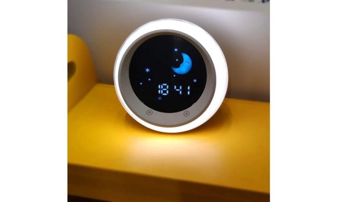 Off On Sun Moon Rise Alarm Clock F