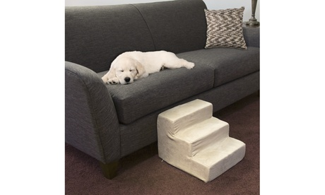 High-Density Foam Pet Stairs with Removable Cover