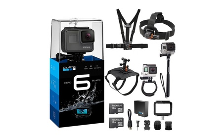 GoPro HERO6 Black 4K 12MP 30fps Action Camera