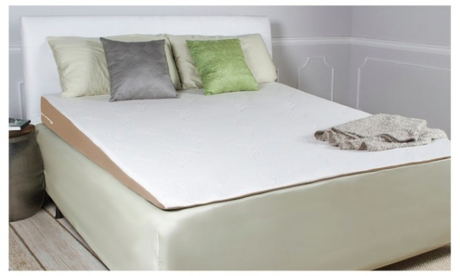 Avana Inclined Gerd Memory Foam Mattress Topper Wedge King Size Bed