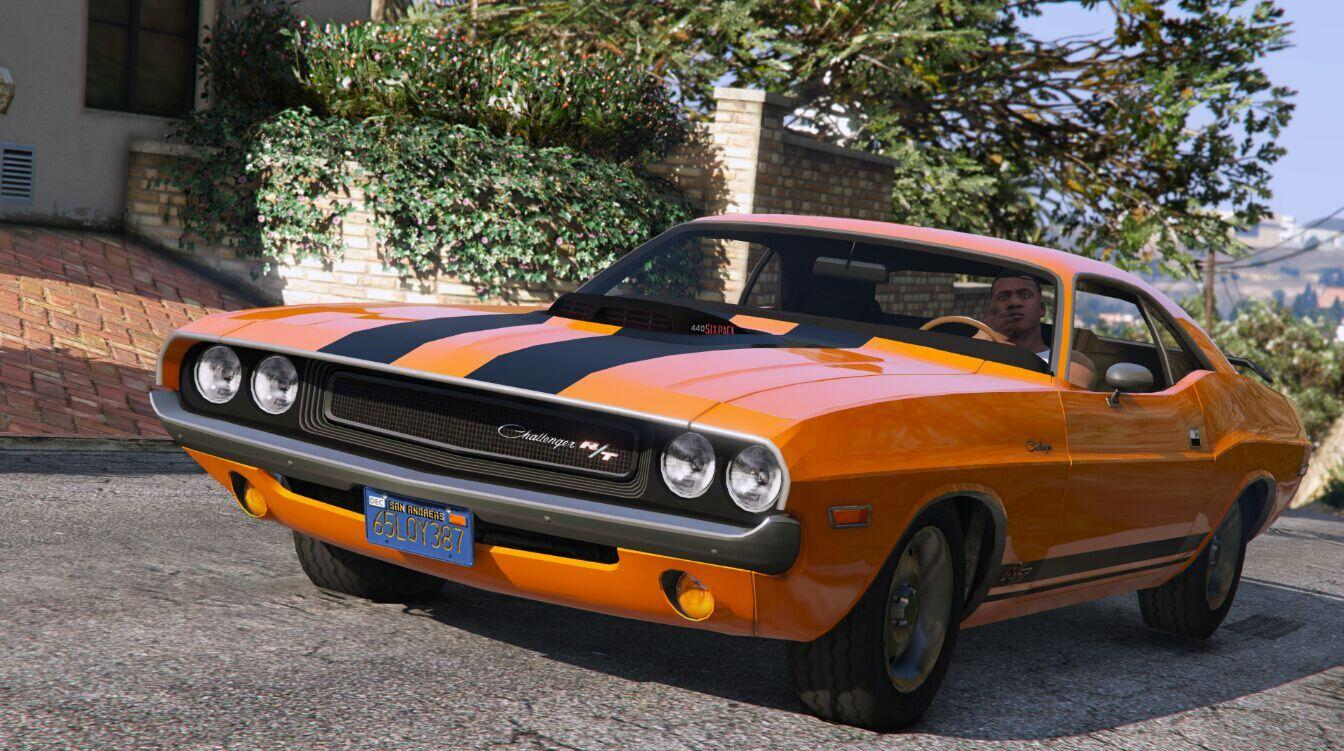 Challenger Dodge Rt 70 440 Pack Six