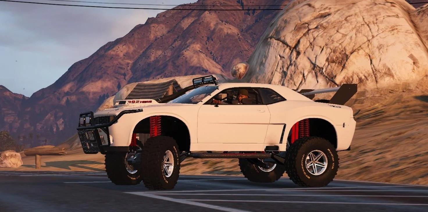 Dodge Challenger Raid Handling Gta5 Mods Com