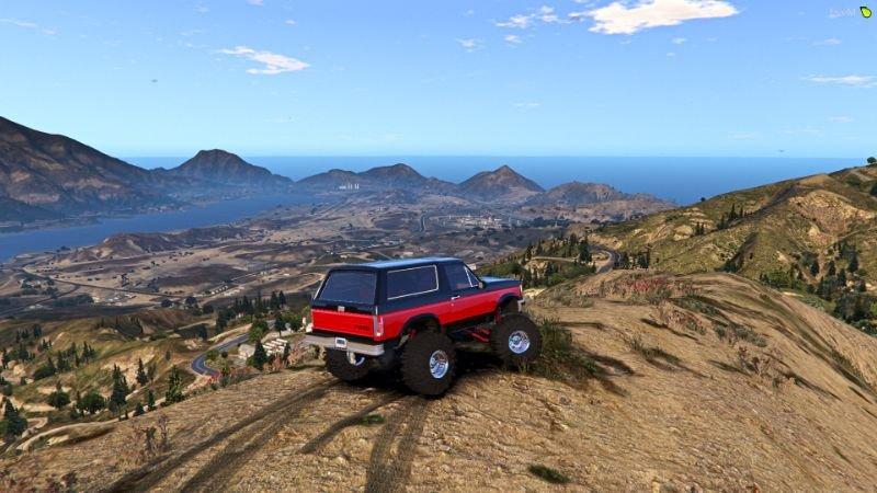 Custom 1995 Bronco Retro Mod Gta5 Mods Com