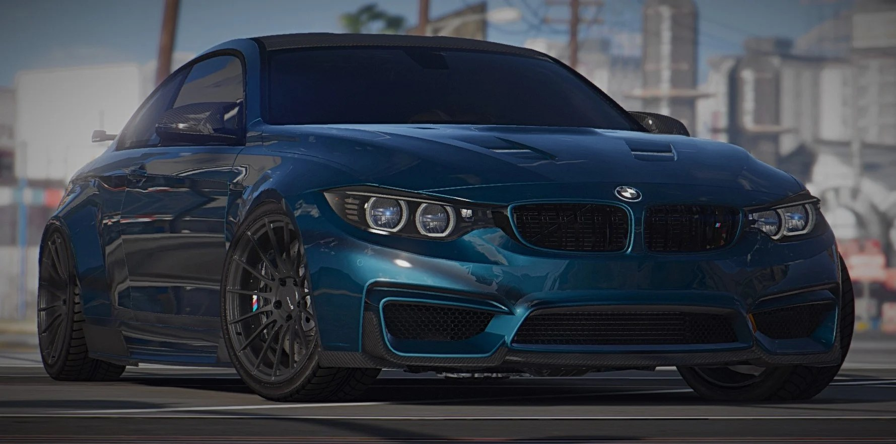 2015 BMW F82 M4 Add On Tuning Bodykits