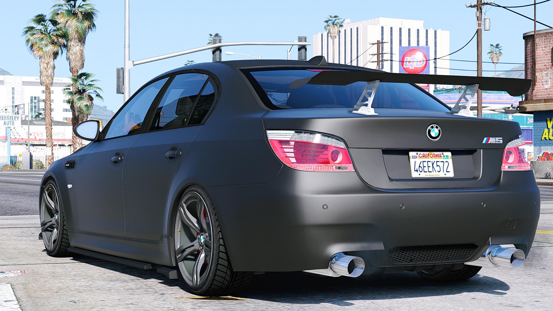 BMW M5 E60 Add On Replace