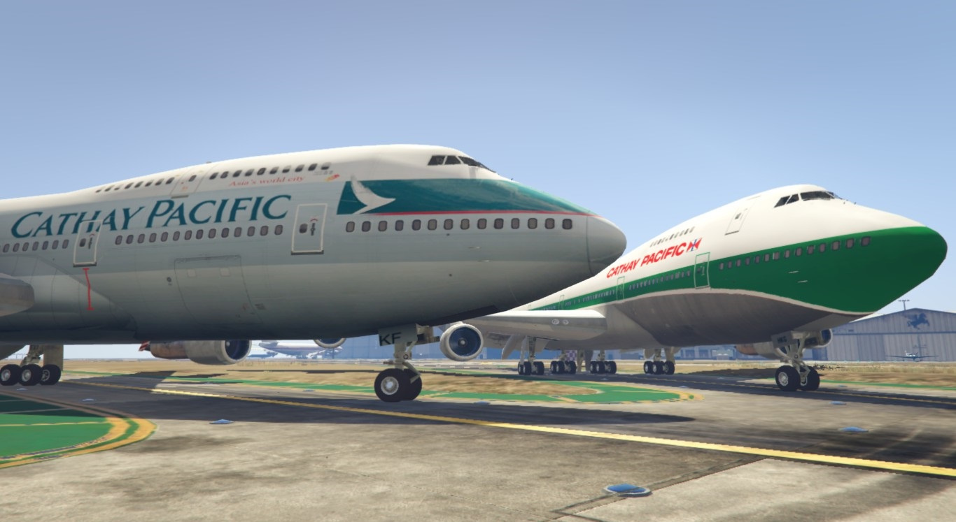 Cathay Pacific Boeing 747-200 - GTA5-Mods.com