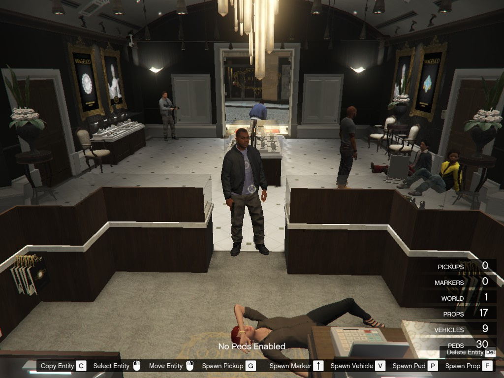 Jewelry Store Heist Gone Wrong