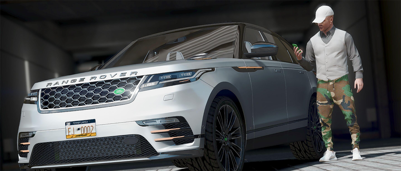 Land Rover Range Rover Velar 2018 GTA5 Mods