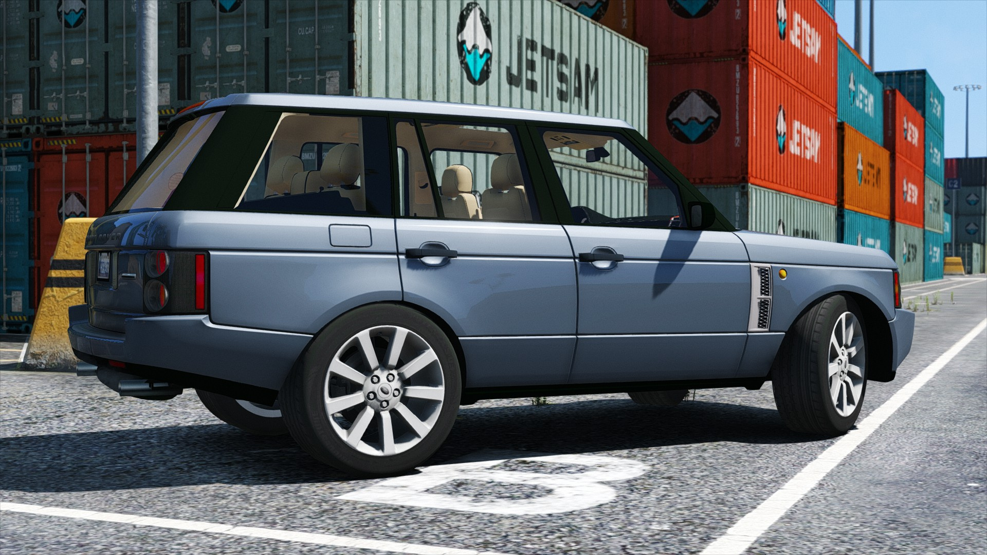 Range Rover Supercharged GTA5 Mods
