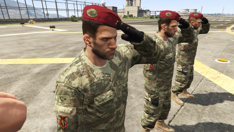 Army Uniform Army Uniform Gta V