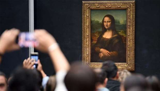 Image result for Intrigue over absent masterpiece as da Vinci show opens doors""