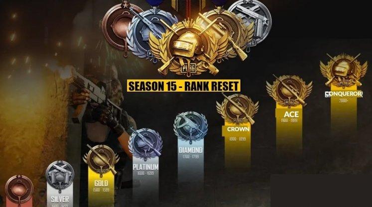 Tier Reset Full Details In PUBG Mobile Season 15