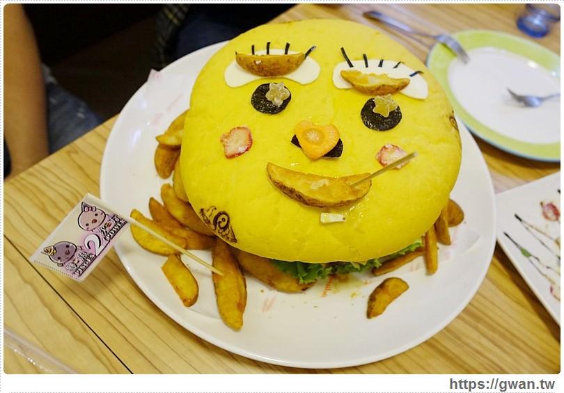 台中美食,創意漢堡,雙魚2次方,食尚玩家推薦,爆漿漢堡排,手打漢堡,漢堡DIY,幸福料理,手工料理,台中必吃漢堡,一中街推薦美食,造型漢堡,台南搬來台中的漢堡店-22-179-1
