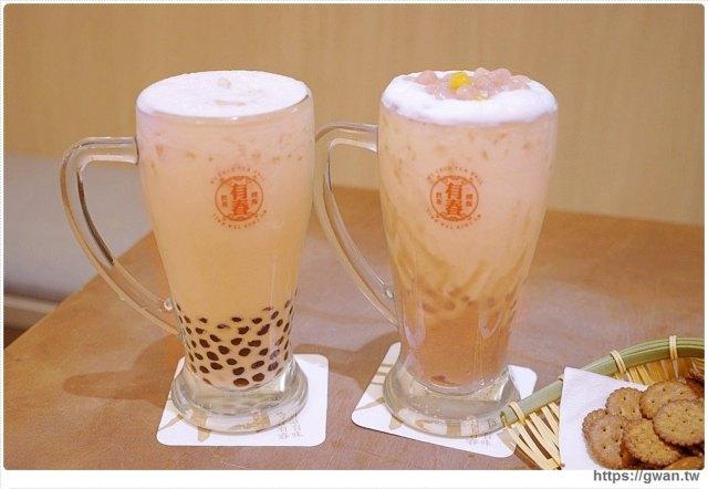 台中美食有春茶館   珍珠烏龍春奶茶