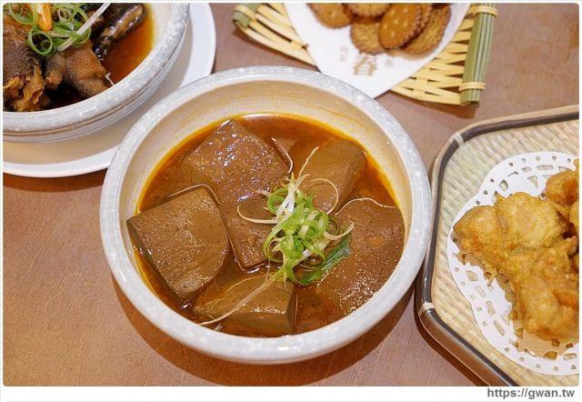 台中美食有春茶館   麻辣鴨血