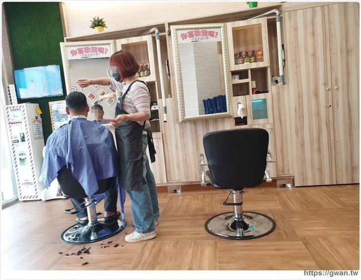20191013010950 4 - CQ2百元快剪 | 剪髮前還要先買票,洗頭居然只要20元!