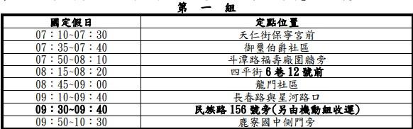 20200110233057 7 - 2020台中春節、國定假日垃圾車清運時間表,大台中地區倒垃圾時間地點整理!