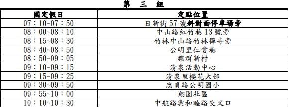 20200110233059 57 - 2020台中春節、國定假日垃圾車清運時間表,大台中地區倒垃圾時間地點整理!