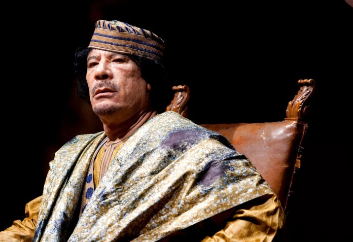 Libyan leader Muammar Gadhafi, an early client of AQ Khan's freelance nuclear proliferation business, was later the cause of Khan's downfall