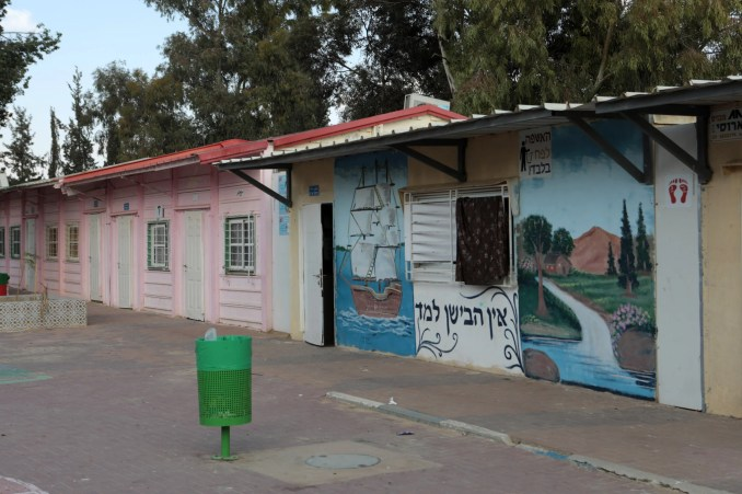 Kids at Israeli Bedouin school are learning how to spend the day without water
