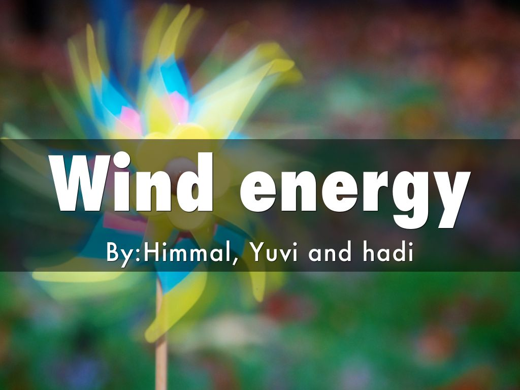 Positives And Negatives Energy Wind