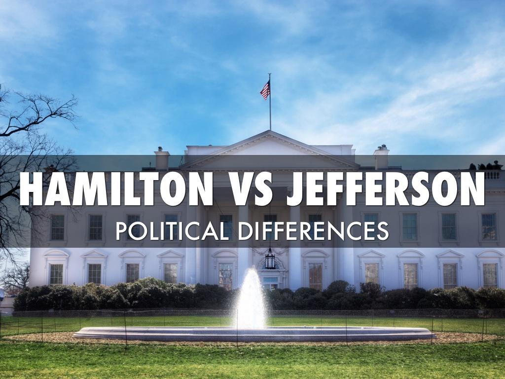 Jefferson V S Hamilton By John Kleywegt