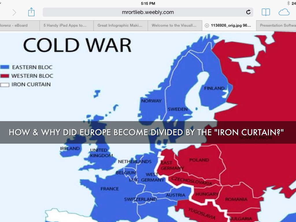 Define The Concept Iron Curtain In Context Of Cold War Europe