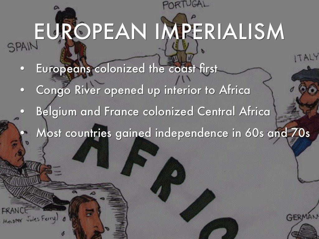 Colonization Central Africa