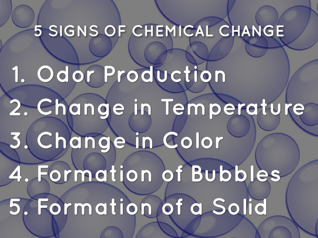 Changes Chemical Are How Substance And Used They Are And What Physical