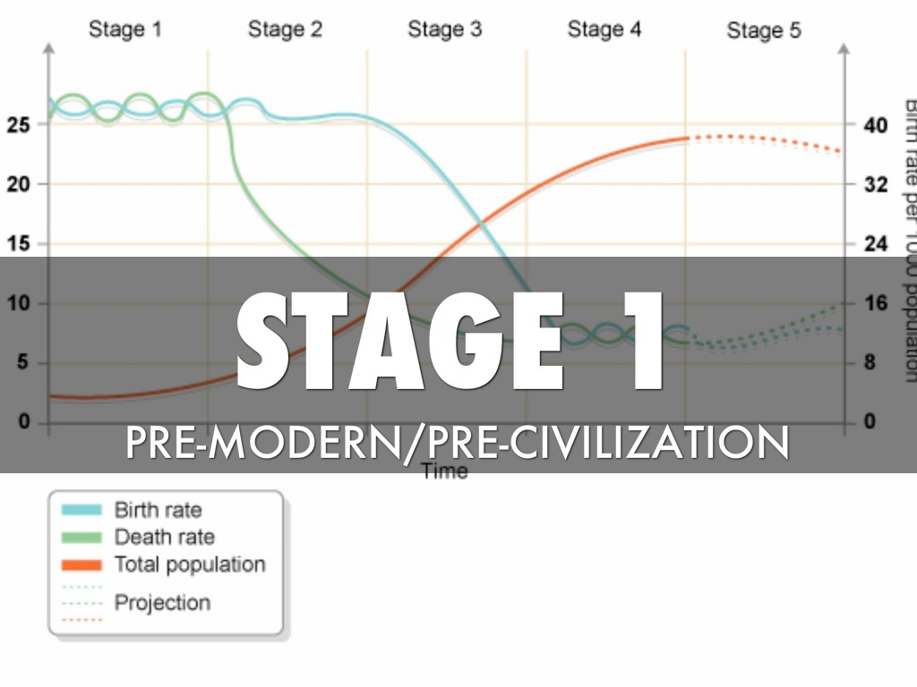 Demographic Transition Summary By Lauren G