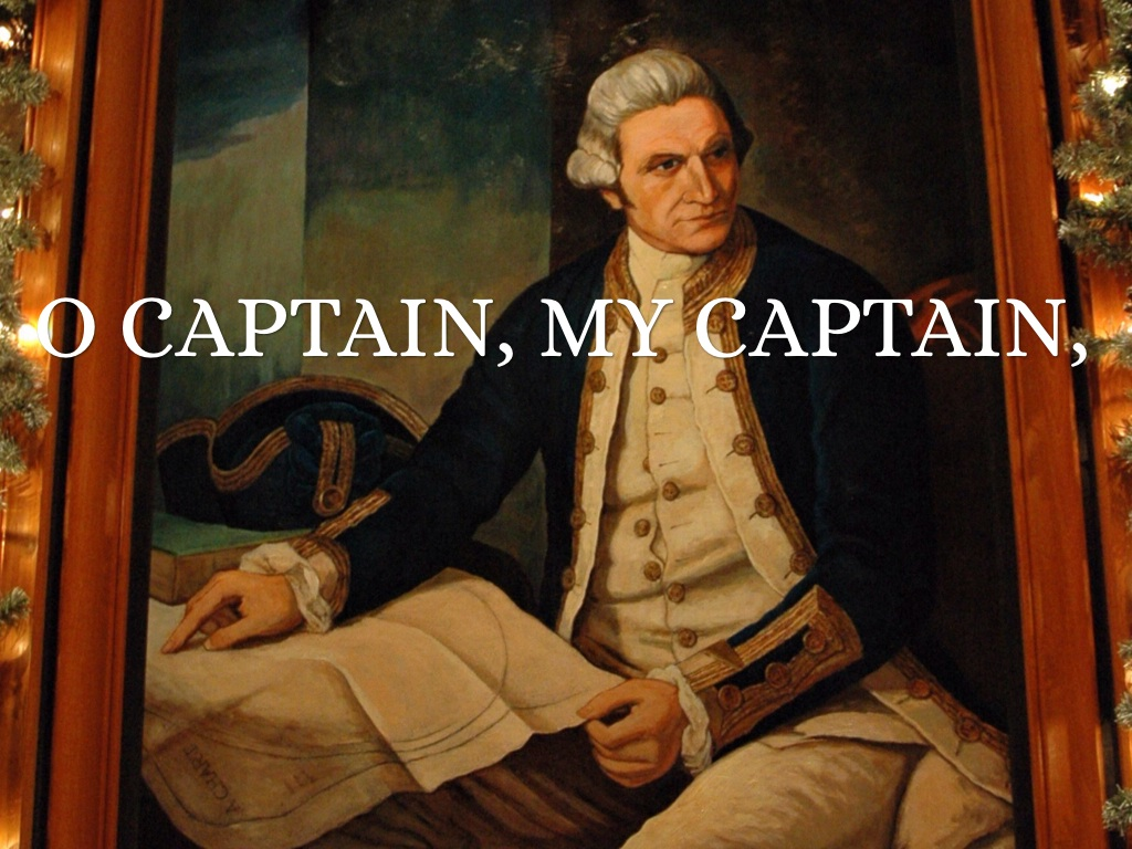 O Captain My Captain By Jt Roy
