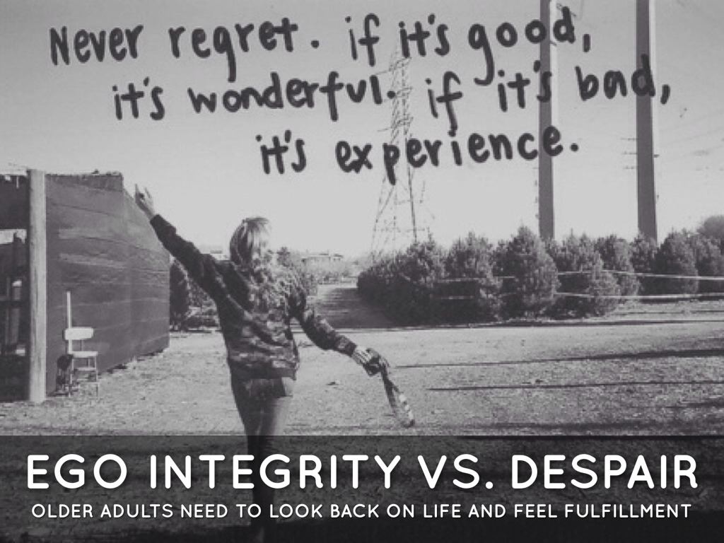 Despair Ego 8 Vs Integrity