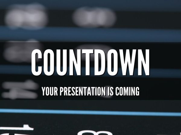 Copy of Countdown to your Next Presentation by