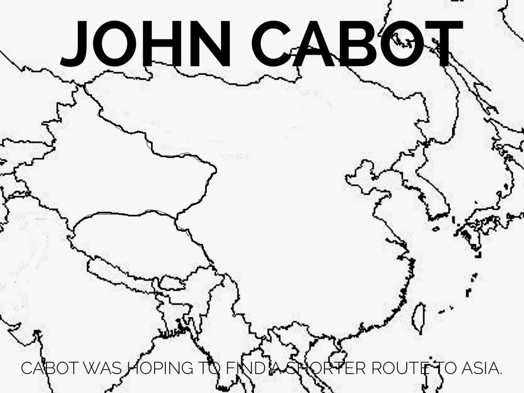 John Cabot By Bradlee Kraus