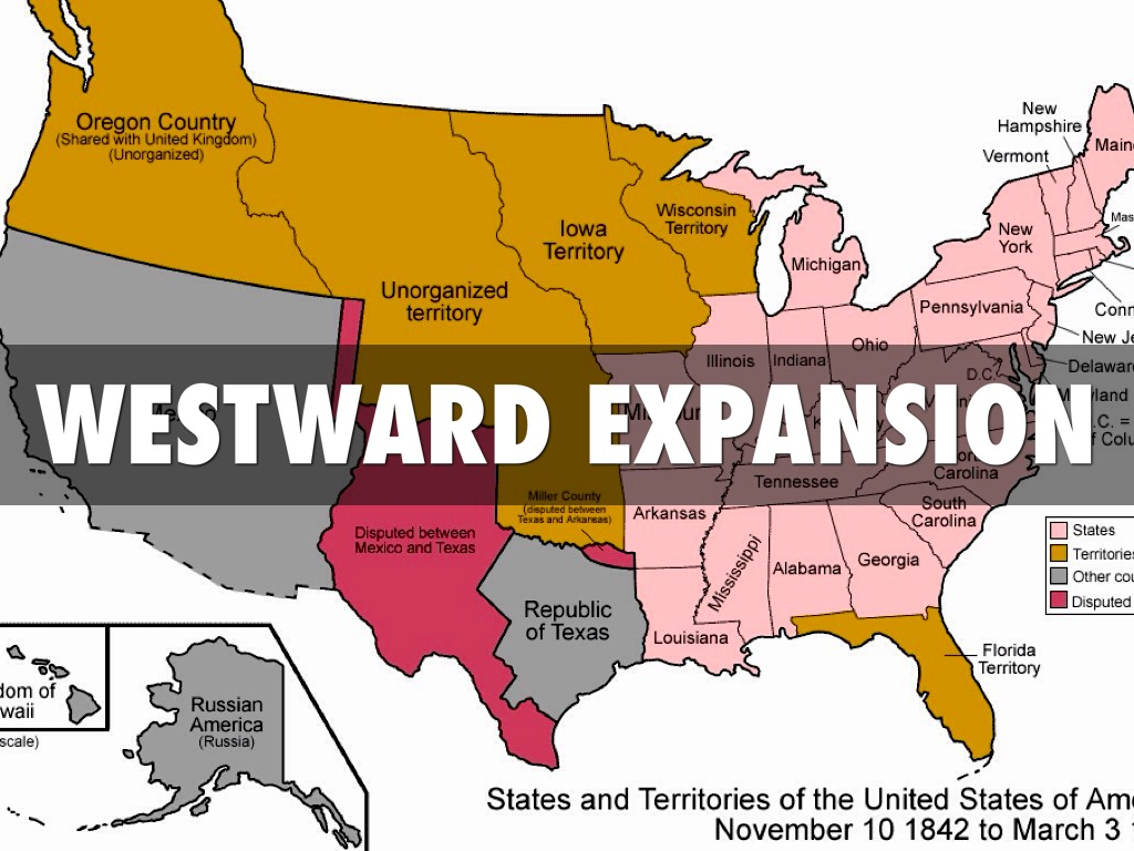 Westward Expansion By Jacob Liston
